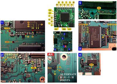 Pasang Hardisk Ps2 Slim modbo 5 0 install diagram