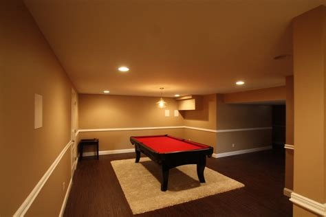 basement finishing project in somerset county new jersey