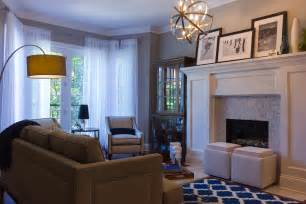 living room amp dining room decorating project in chicago
