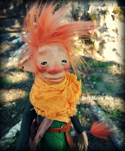 Handmade Trolls - troll doll ooak handmade manor doll finn