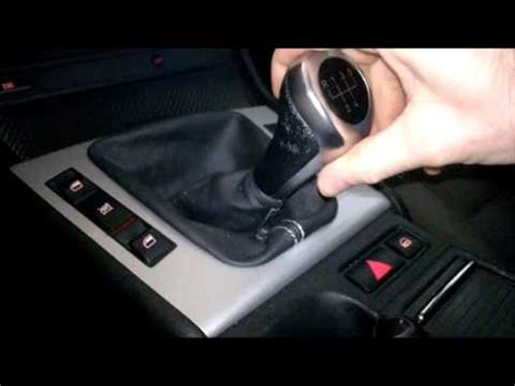How To Change The Gear Shift Knob by How To Replace Gear Shift Knob On Bmw E46 E21 E28 E30 E