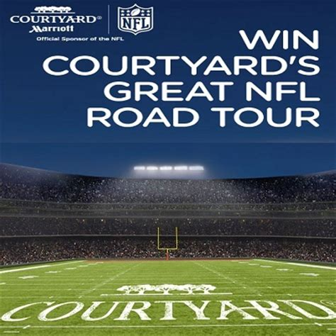 Courtyard By Marriott Nfl Sweepstakes - win great nfl road trip with courtyard sweepstakesbible