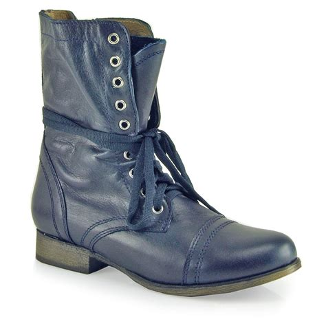 combat boot steve madden troopa combat boot at footnotesonline