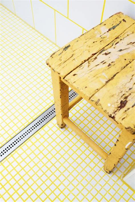 tile and grout color combinations white tiles yellow grout awesome color