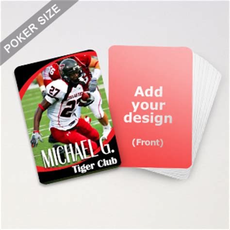 make custom trading cards custom made sports trading cards