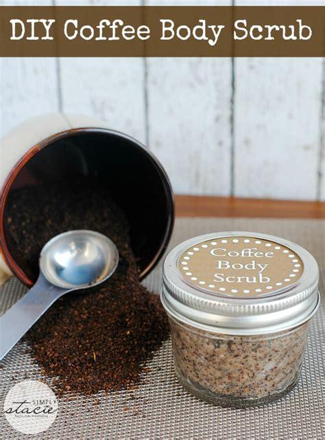 Bell Fresh Made Coffee Scrub diy coffee scrub simply stacie