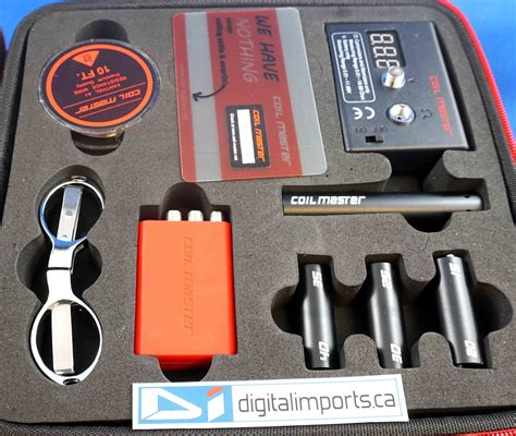 Coilmaster Wrap Batre Authentic coil master tool kit v2 authentic out of stock