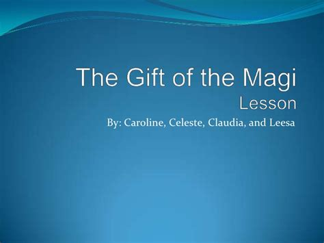 The Gift Of The Magi Essay by College Essays College Application Essays The Gift Of The Magi Essay