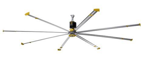big air ceiling fan smart fan for industrial spaces