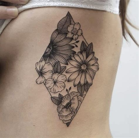rib flower tattoo designs 25 best ideas about rib tattoos on rib