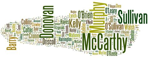Cork Ireland Birth Records Surnames County Cork Surnames And Places