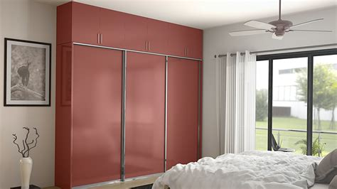 Sliding Wardrobe Design by 6 Trendy Wardrobe Door Designs From Homelane Homelane