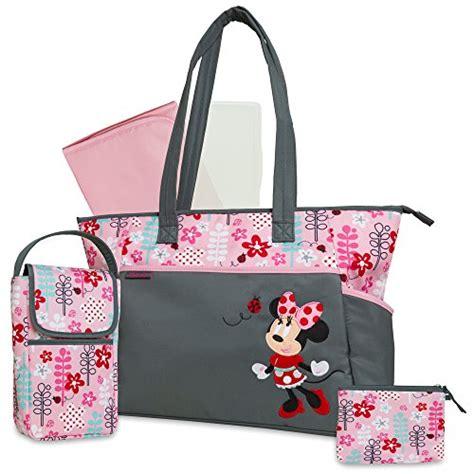baby diaper bags boys girls babiesrus disney minnie mouse 5 in 1 diaper bag 886252143265