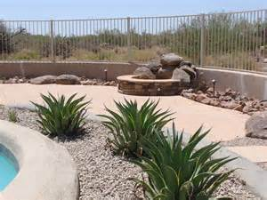 Backyard Desert Landscaping Ideas Desert Backyard Landscape Theme Swimming Pool Side Photo Beautiful Backyard Ideas