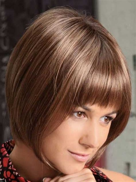 reverse bob haircut with bangs 15 best inverted bob with bangs short hairstyles 2017