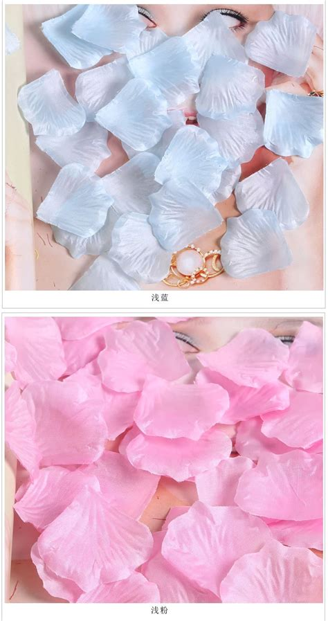 where to buy rose petals for bed 7114 silk flower petals rose marriage bed multi color