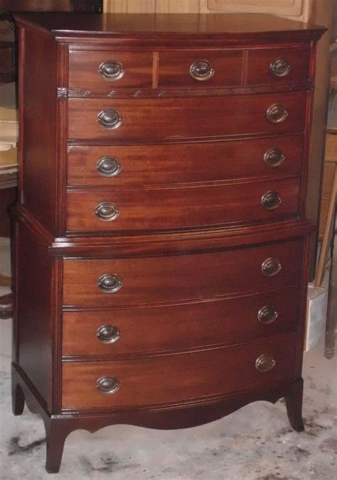 federal style bedroom furniture refinished large vintage federal style mahogany 7 drawer