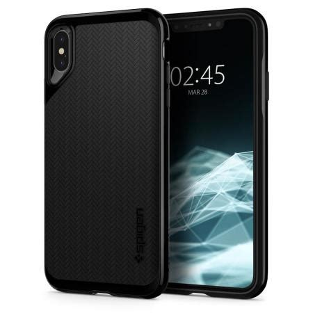 spigen neo hybrid iphone xs max case jet black