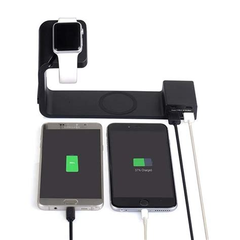 wireless charging station tupelo multifunctional charging station boasts integrated