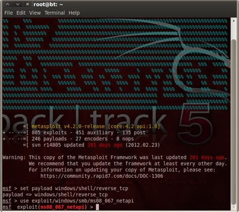 exploit windows xp sp3 using metasploit msfconsole information security shinobi exploit windows xp with