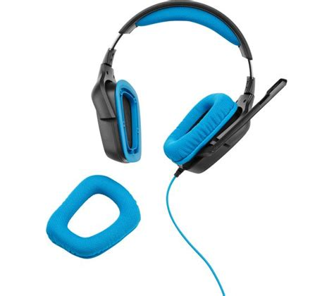 Headset Gaming Logitech G430 logitech g430 gaming headset black blue deals pc world