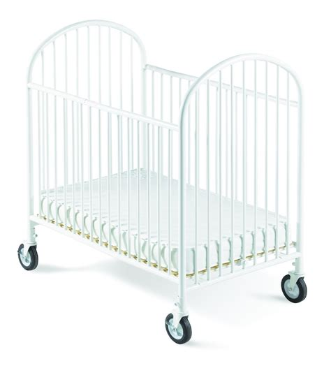 White Crib With Mattress Foundations Classico Mini Crib With Mattress White 1341097 Nurzery