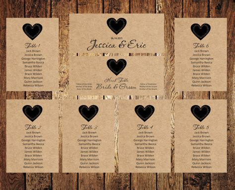 Seating Chart Template Free Premium Templates Wedding Table Chart Template