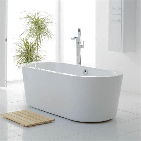 small bathroom with freestanding tub arc freestanding bath small victoriaplum com