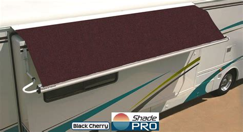 rv slide out awning rv awning replacement fabrics free shipping shadepro inc