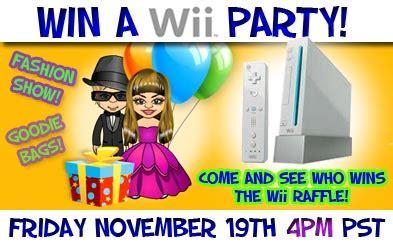 Our Wii Winner secretbuilders builder logs don t miss our wii winner