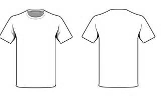 T Shirt Front And Back Template Psd by Plain White T Shirt Front And Back Clipart Best