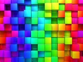 color blocks hd wallpaper rainbow color 3d blocks graphics wallpapersbyte