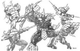 tmnt shredder coloring pages coloring pages