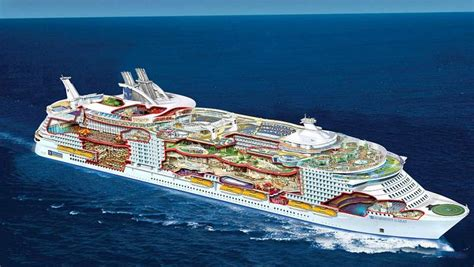 the world s largest cruise ship allure of the seas harmony of the seas world s largest cruise ship