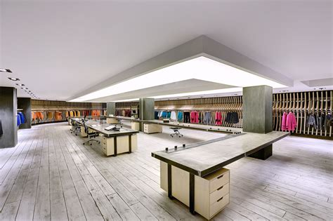 Interiors And Textiles by Vigoss Textile Showroom And Design Office Zemberek