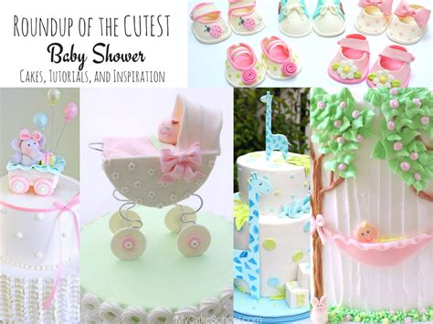 Cutest Baby Shower Ideas roundup of the cutest baby shower cakes tutorials and