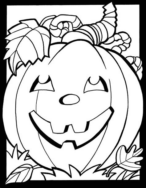 coloring page fall free fall coloring pages printable coloring home