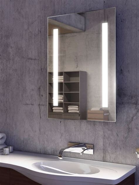 tall bathroom mirror lumin tall super bright led bathroom mirror 203