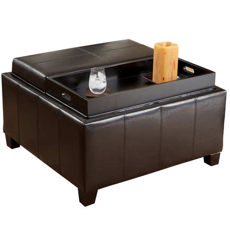 Tray Top Storage Ottoman 5 Best Storage Ottoman Coffee Table Powerful Coffee Table Tool Box