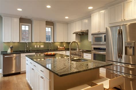Verde Kitchen by Going Green With Granite Use