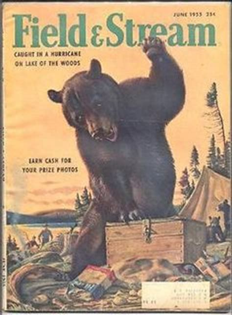 outdoor life the illustrator september 1955 cover from field stream magazine cover