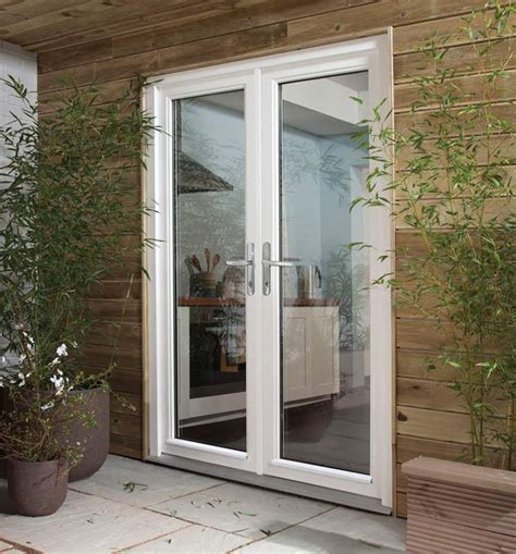 Dreamvu Double French Doorset Softwood Patio Doors Patio Doors