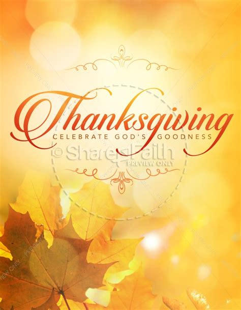 Free Flyer Templates For Thanksgiving