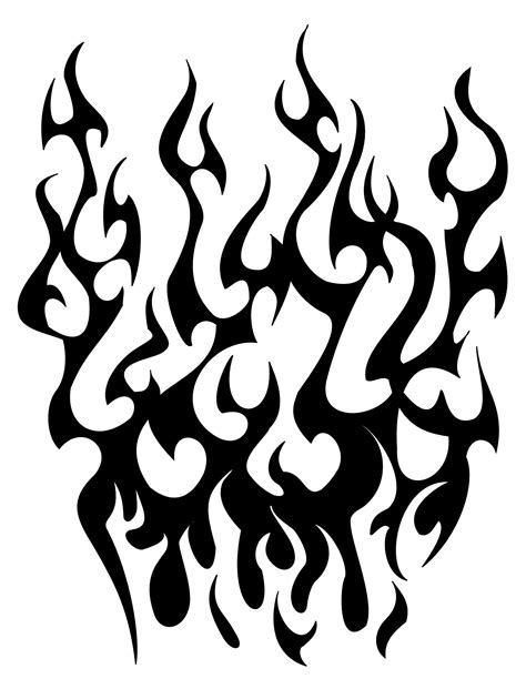 tattoo clipart flames for tattoos clipart best
