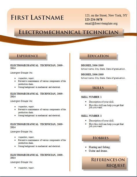 the best resume format 2014 free printable resume templates 2014 krida info