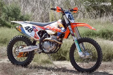 Ktm Motorcycle Parts 2016 Ktm 350 Xc F Project Powerparts Motorcycle Usa