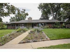 mid century ranch homes historic homes of denver fabulous mid century ranch sold