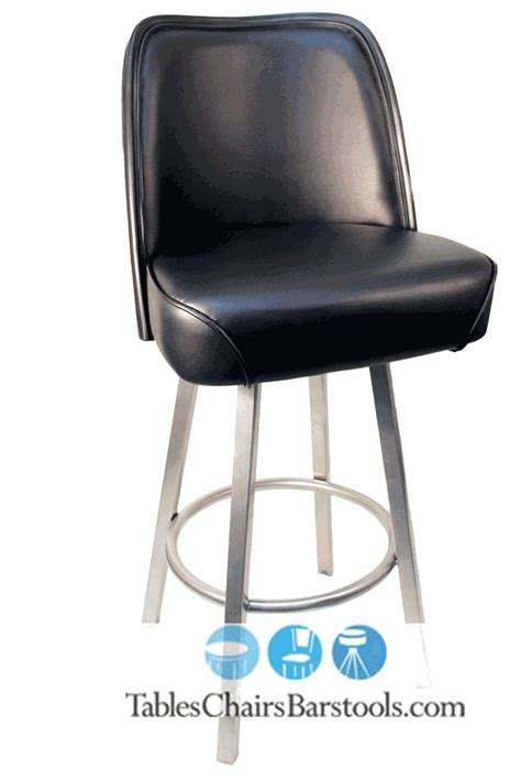 Gladiator Commercial Bar Stools by Gladiator Commercial Black Seat Bar Stool W Pvc