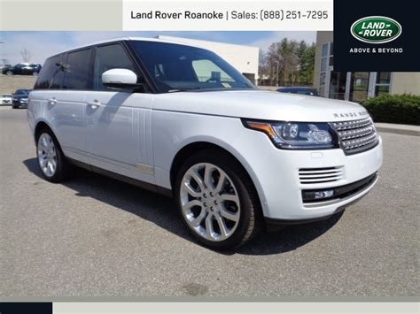 white land rover 2015 yulong white land rover range rover roanoke times suv