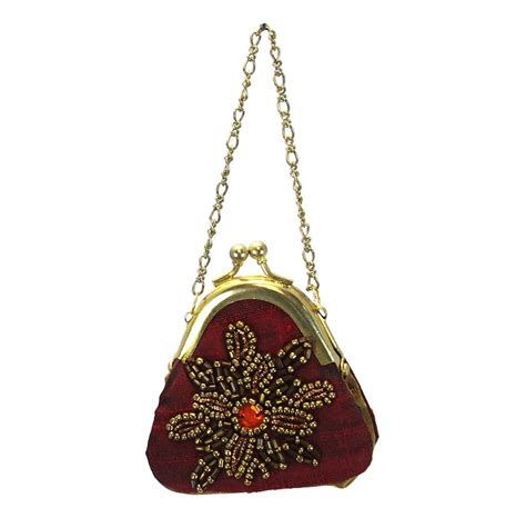 purse ornament red jubilee gift shop